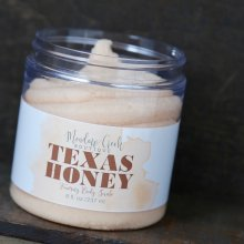 Texas Honey Whipped Soap Scrub